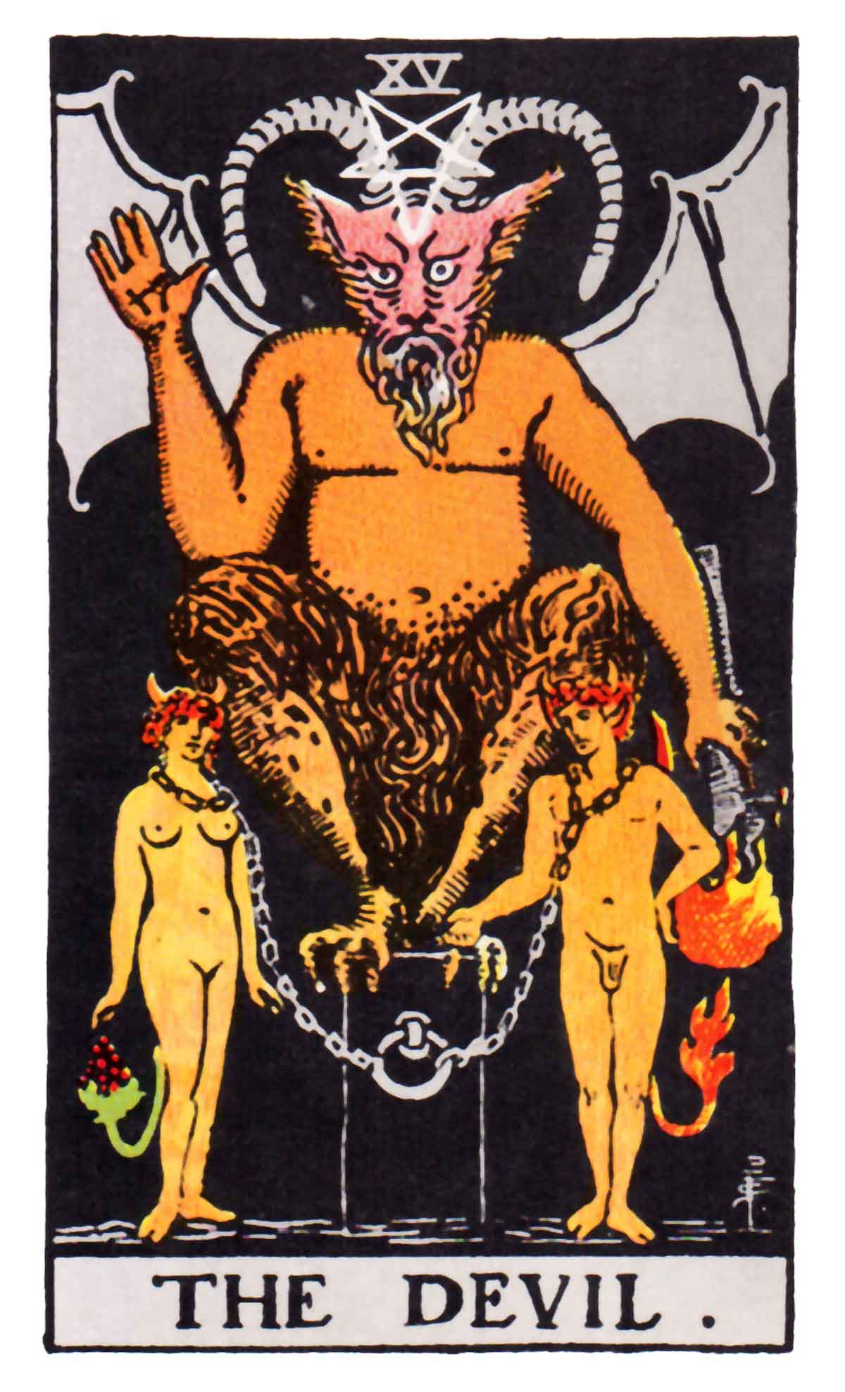 Devil of the Tarot
