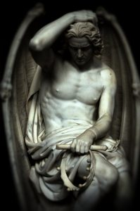 Lucifer Sculpture, Guillaume Geefs