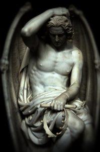 Lucifer Sculpture, Guillaume Geefs