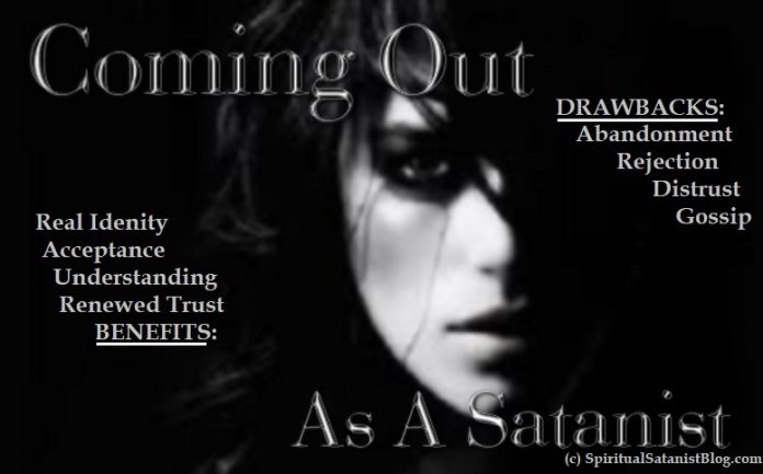 Coming Out As A Satanist