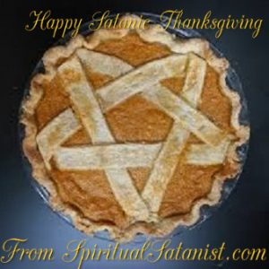 Happy Satanic Thanksgiving